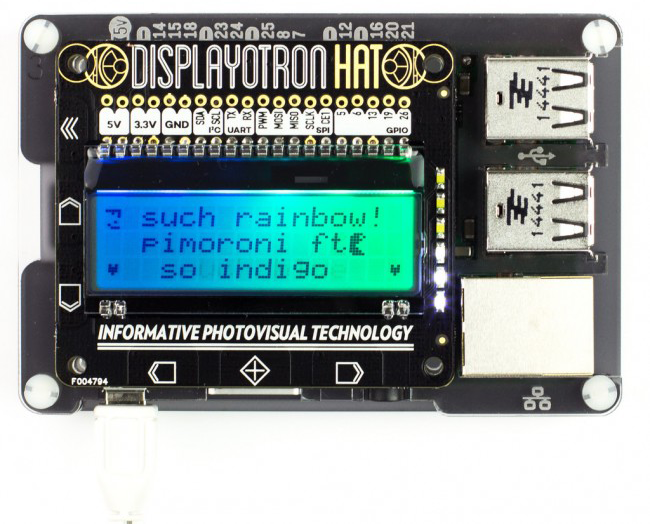 Pimoroni DoT HAT