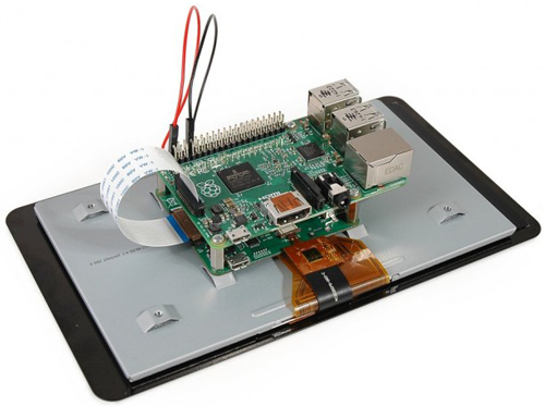 Raspberry Pi touchscreen connection